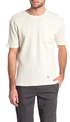 Topo Designs Waffle Textured T-Shirt (Size Extra Large)