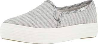 Keds Women's Triple Decker Subtle Chambray Stripe Sneaker