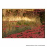 United Artworks Red Photographic Canvas Print With Floating Frame
