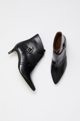 French Connection Buckled Ankle Boots