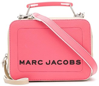 Marc Jacobs The Colorblock Textured mini box bag