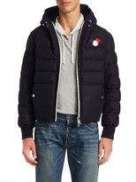 Moncler Hooded Quilted Coat