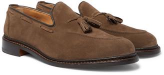 Tricker's Elton Suede Tasselled Loafers