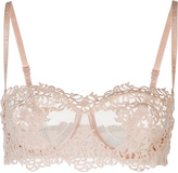 PETIT MACRAME Underwired long line bra