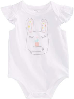 First Impressions Baby Girls Bunny Hug Bodysuit