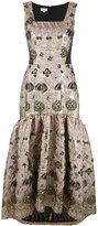 Temperley London Tower long jacquard dress