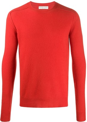 Bottega Veneta Long Sleeve Knitted Jumper