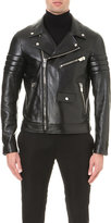Bally Leather Biker Jacket