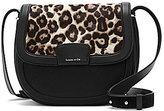 Louise et Cie Ivie Leopard-Print Haircalf Saddle Bag