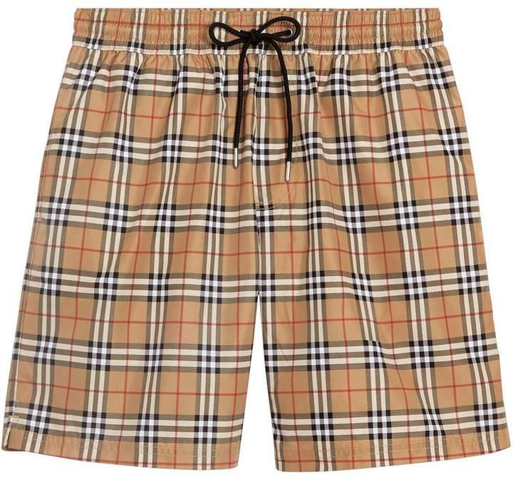 7b9f65abcb Burberry Men's Check Shorts - ShopStyle
