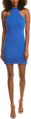 Bebe Halter Sheath Dress