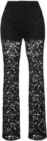 ADAM by Adam Lippes short lined lace trousers