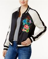 True Religion Embroidered Bomber Jacket