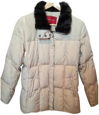 Gerard Darel Beige Cotton Coat for Women
