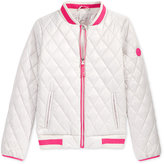 Michael Kors Quilted Bomber Jacket, Big Girls (7-16)