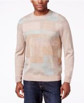 Weatherproof Men's Big and Tall Blocked Sweater, Classic Fit