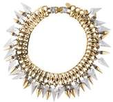 Erickson Beamon Crystal Spike Collar Necklace