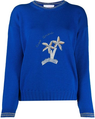 Giada Benincasa Embroidered Knitted Jumper