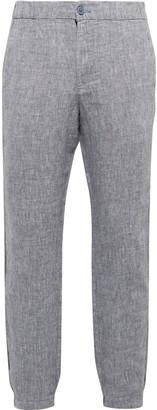 Onia Elijah Linen Trousers - Men - Blue