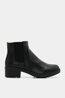 Ardene Chelsea Track Booties - Shoes |