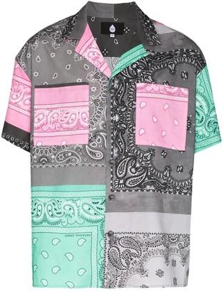 Duo Multicolored Bandana Print Shirt