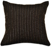 "Donna Karan Reflection Beaded Decorative Pillow, 12"" x 12"""