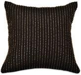"""Donna Karan Reflection Beaded Decorative Pillow, 12"""" x 12"""""""