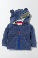 Infant Boy's Mini Boden Towelling Terry Hoodie