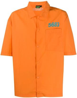 Willy Chavarria x Hummel Home Boy shell shirt