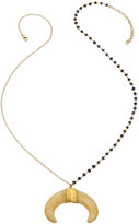 Heather Hawkins Protection Necklace - White Double Horn