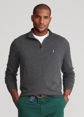 Ralph Lauren Merino Quarter-Zip Sweater