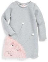 Halabaloo Toddler Girl's Monster Dress