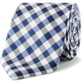 Calvin Klein Gingham Check Tie
