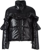 MSGM ruffled puffer jacket