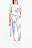 Paul & Joe Sister Rigato Denim Stripe Trousers