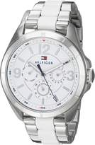 Tommy Hilfiger Women's 'SOPHISTICATED SPORT' Quartz Stainless Steel Casual Watch, Color:-Toned (Model: 1781768)
