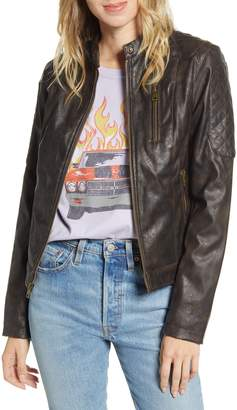 Levi's Faux Leather Racer Jacket