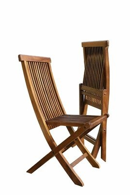 Millwood Pines Westhampton Indoor/Outdoor Folding Teak Patio Dining Chair Millwood Pines
