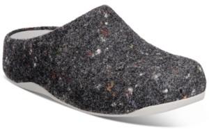 FitFlop Shuv Felt Clogs Women's Shoes