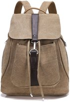 Greenirisen Backpack Causal Schoolbag Drawstring Rucksack Travel Tote for Teenage Boys
