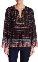 Hale Bob Embroidered Bib Tunic Top