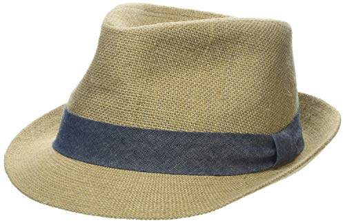 79691fc4d Men's Halstow Panama Hat, Brown Hessian, Small (Size: S/M)