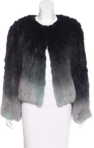 Yves Salomon Ombré Fur Jacket