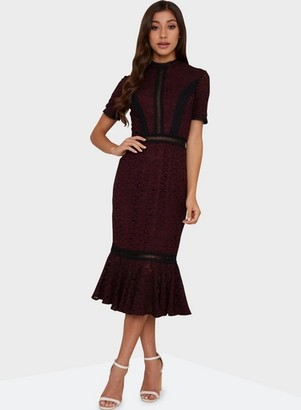 Dorothy Perkins Womens Chi Chi London Black 'Sharney' Bodycon Dress, Black