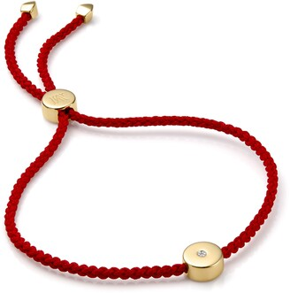Monica Vinader Linear Solo Diamond Friendship Bracelet