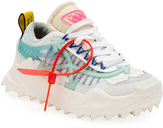 Off-White Off White Odsy Colorblock Mesh Sneakers
