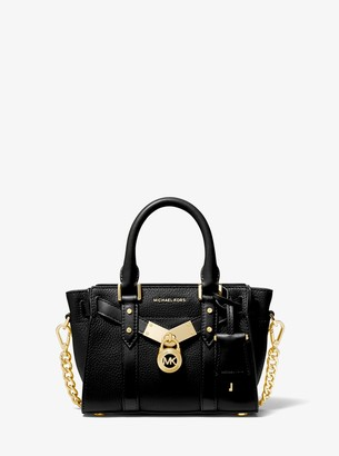 MICHAEL Michael Kors Nouveau Hamilton Extra-Small Pebbled Leather Crossbody Bag