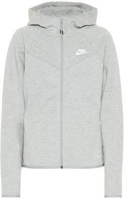 Nike Windrunner cotton-blend hoodie