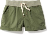 Old Navy Drawstring Twill Shorts for Girls