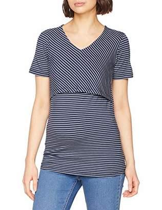 Noppies Women's nurs ss Nia YD Maternity Vest Top,Size: XS